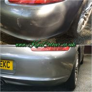 porsche boxster rear bumper scratch repair leeds