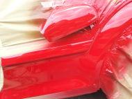Vauxhall Astra Rear wheel Arch scrape Dent