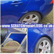 Jaguar mobile scratch repair in leeds bodywork