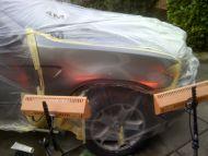BMW X3 wing dent