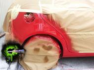 VW Golf Arch Dent repair