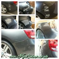 bmw 1 series minor accident paint damage