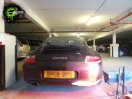 Porsche Carrera mobile bumper repair
