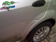 Fiat Punto Door Crease and paintwork repair