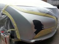 2013 New Honda Civic bumper repair