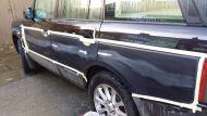 Range Rover Vandal scratch key repair