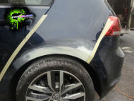 VW Golf rear arch repair