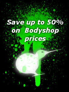 Save up to 50% on bodyshop prices
